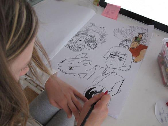 marie-zeichnet